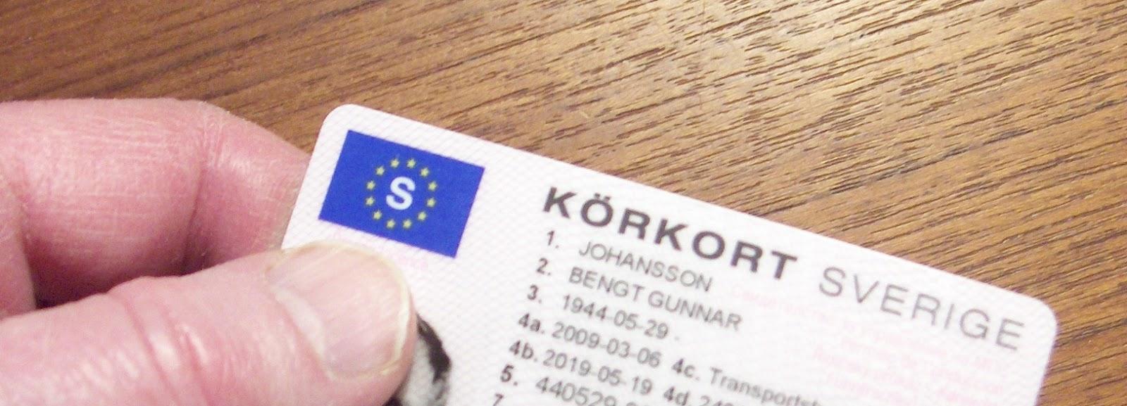 ansökan körkortstillstånd